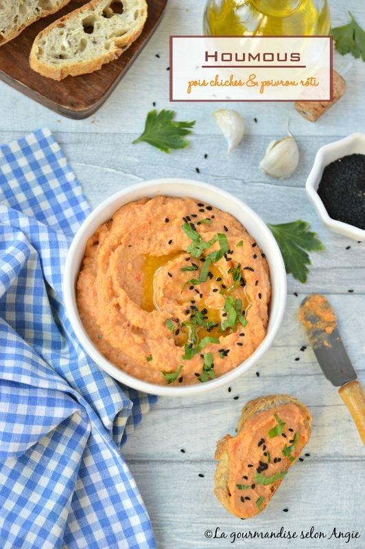 houmous pois chiches et poivron rôti #vegan #houmous #poivron http://www.la-gourmandise-selon-angie.com/archives/2017/07/07/35446336.html