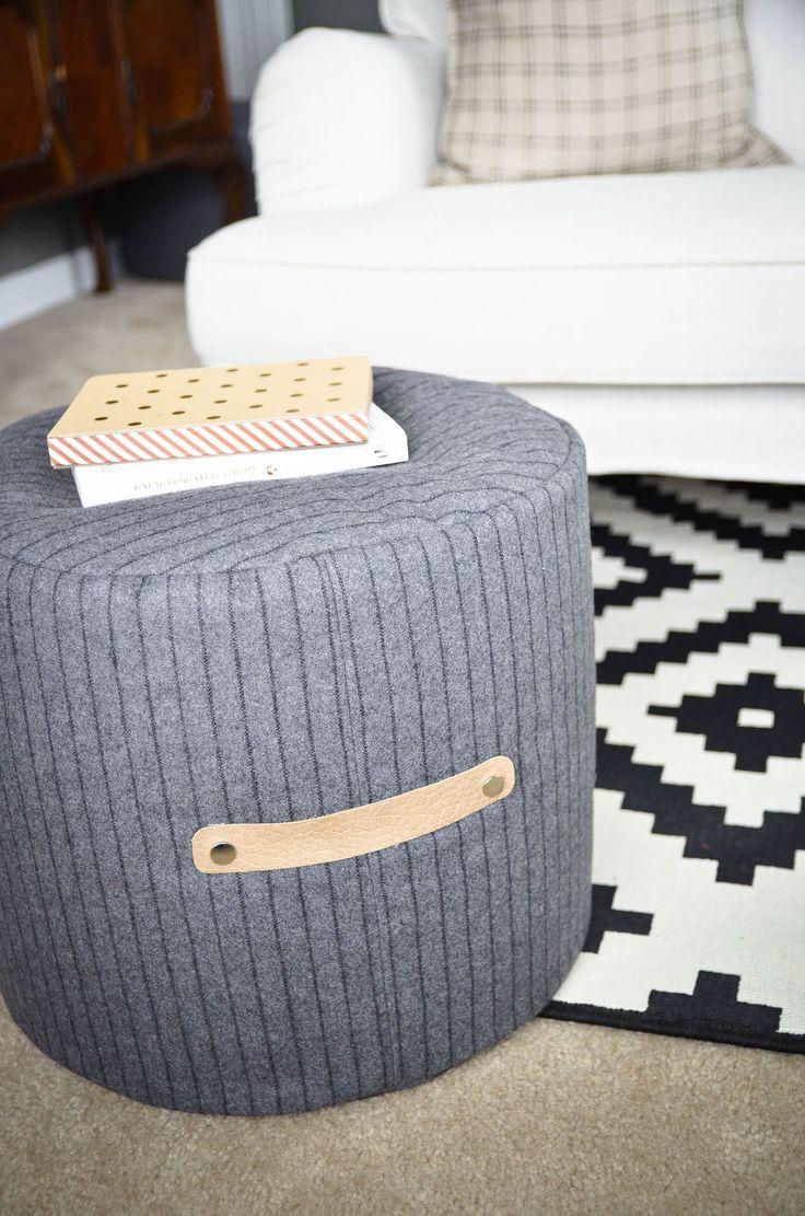 Project Nursery - DIY Floor Pouf Sewing Tutorial - Project Nursery