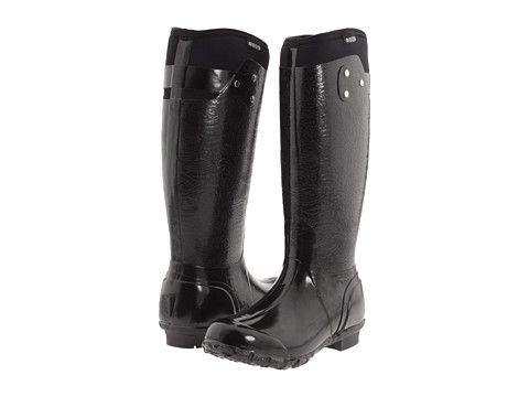 Combat the rain without going against your principles with Bogs Rider Embossed Boots. #vegan #veganfashion #veganshoes