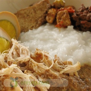 Resep Bubur Gudeg - Bubur Gudeg Recipe
