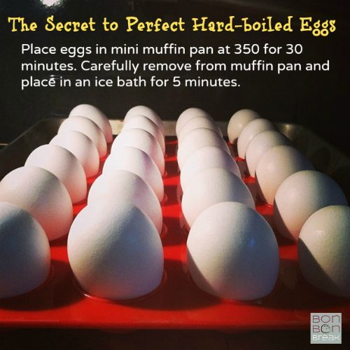 The Secret to Perfect Hard-boiled Eggs by Val Curtis