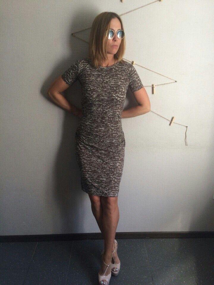 Платье военное))