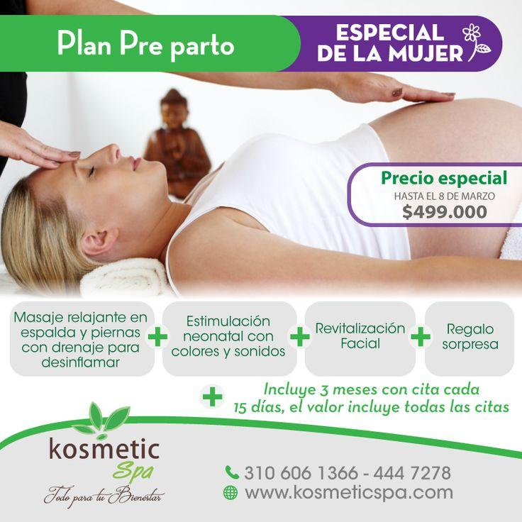 En el #EspecialDeLaMujer también pensamos en el embarazo! Plan #PreParto 3 meses por sólo $499.000...