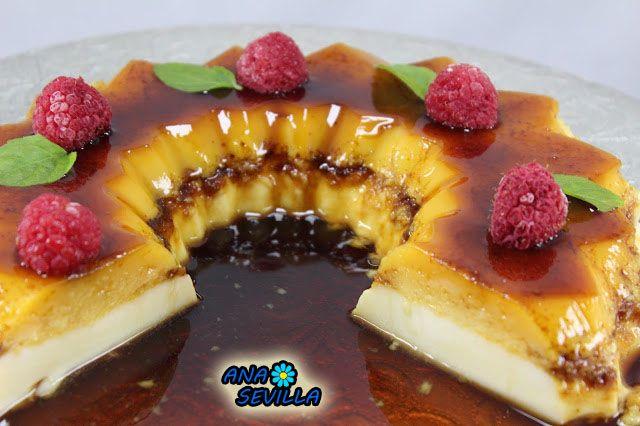 Tarta de queso y tocino de cielo Ana Sevilla Thermomix, tradicional y olla GM