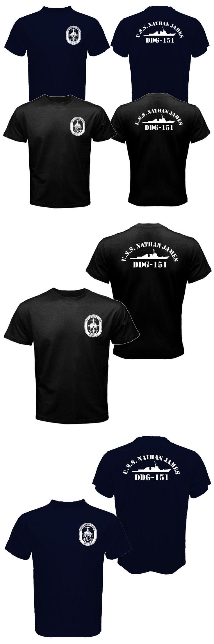 New The Last Ship USS Nathan James DDG-151 US Navy Seal TV Series T-shirt Mens 100% Cotton Tee Shirt S-XXXL