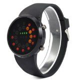 chinkyboo LED Date Rubber Wrist Watch WristWatch Mens Fashion Gift- http://www.siboom.co.uk/compare-prices-compare-prices-jewellery-watches_c109814.html.html?catt=compare-prices-jewellery-watches&k=Fashion+men+watches&ppa=4 Displaying Hour minute date Show the time clearly easy to read  Black dial with blue LED display which shows your fashion taste  Daily Water Resistant not for swimming or showering  Watch Band Black Rubber  Case Diameter 420