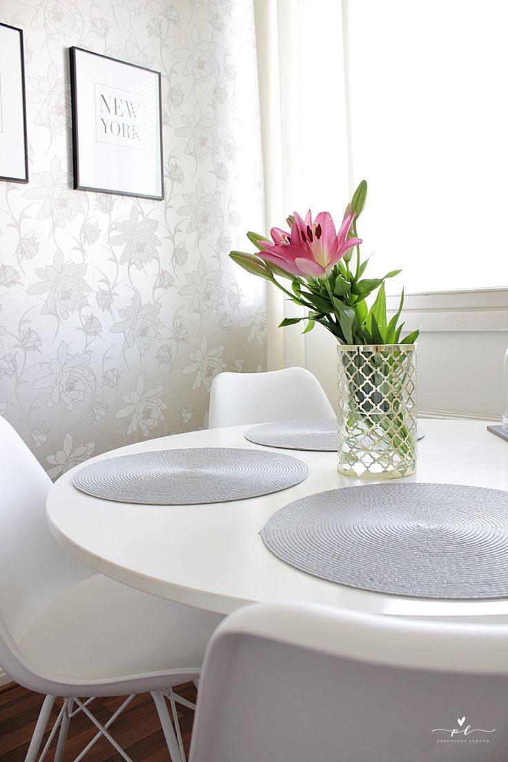 Keittiö Round Table Ikea Docksta Home Koti Sisustus Kitchen Decor Desenio