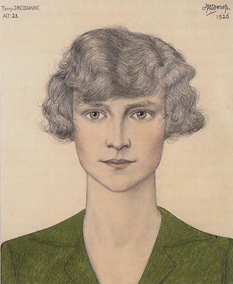 Jan Toorop, Tonny Dreesmann - 1926