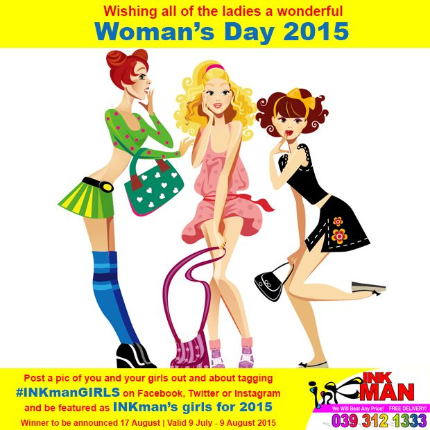 WIN with INKman this Woman's Day #INKmanGirls http://buff.ly/1HIzphD