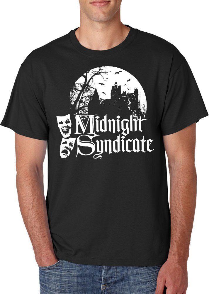 New+Black+For+Men+Tshirt+Midnight+Syndicate+Custom+T-Shirt