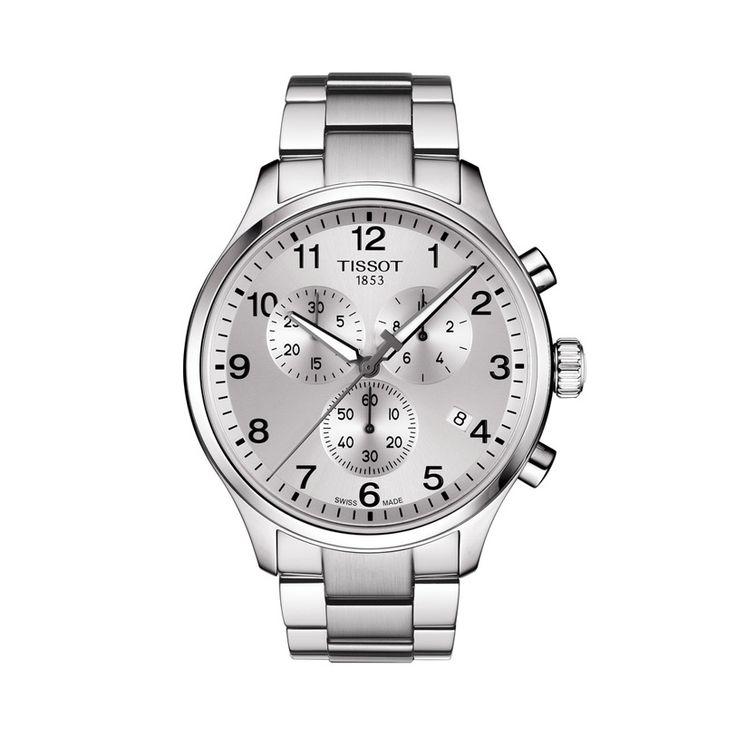 Ανδρικό ελβετικό quartz ρολόι του οίκου TISSOT, από τη συλλογή T-SPORT, μοντέλο CHRONO XL CLASSIC T116.617.11.037.00 Ένα σπορ ρολόι ασημί χρονογράφος με ημερομηνία & μπρασελέ. Ανδρικό ρολόι TISSOT CHRONO XL CLASSIC T1166171103700 με μπρασελέ, χρονογράφος με ασημί καντράν | Ρολόγια TISSOT στο Χαλάνδρι ΤΣΑΛΔΑΡΗΣ #tissot #chronoxlclassic
