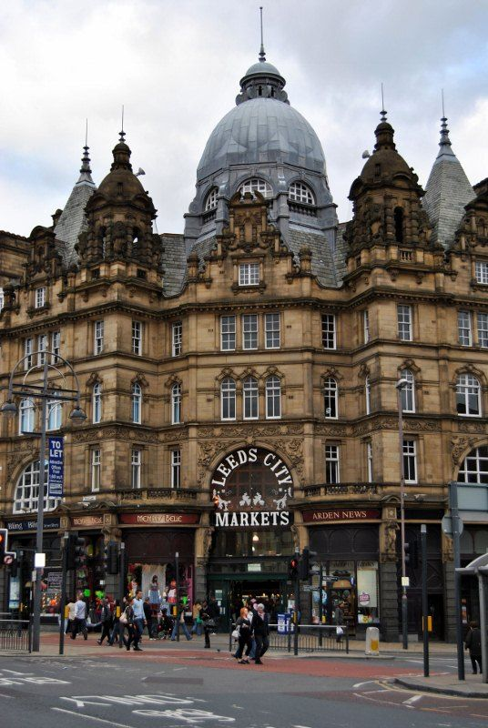 Farmers Market Leeds England. Corey has told me a lot about it. Hope to visit before he moves!