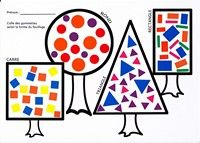 shape trees. give each child a shape while sitting in a circle and take turns. (colors too)
