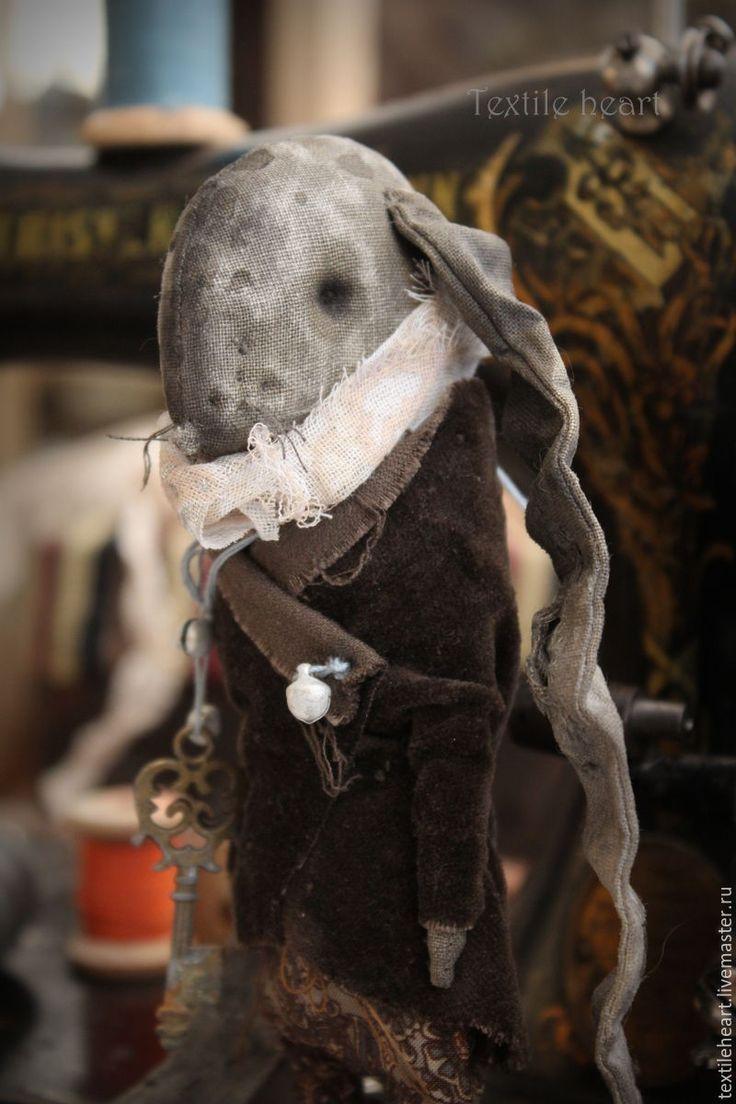 Купить Bessis. - коричневый, заяц, заяц текстильный, зайка, кролик, кролик игрушка, кролик эдвард