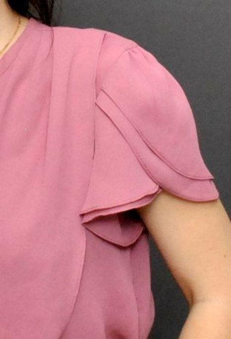 Моделирование рукава-тюльпан