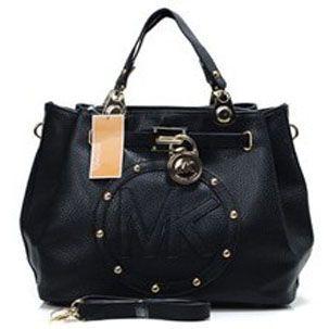 $78 Michael Kors Hamilton Encircling Designer Leather Black : Michael Kors Outlet Online