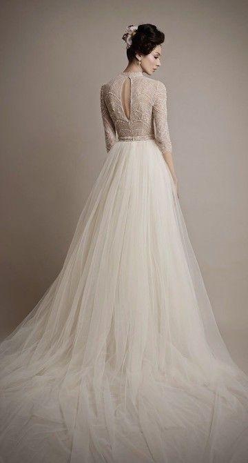 21 Ultra Romantic Tulle Wedding Dresses - MODwedding