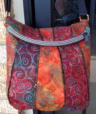 Uptown Saddlebag Pattern-handbag Patterns-StudioKat Designs