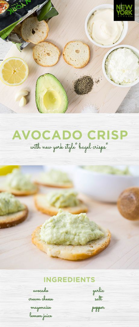 Love avocado toast? Upgrade your brunch game with this fancied-up Avocado Crisp. It's a tasty, crunchy spin on a classic.