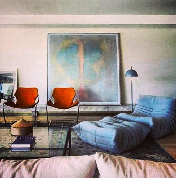 1000 images about fauteuils chaises etc sur - Togo ligne roset couleurs ...