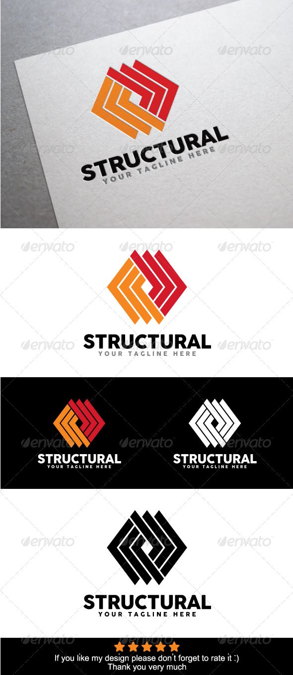Structure Logo Template