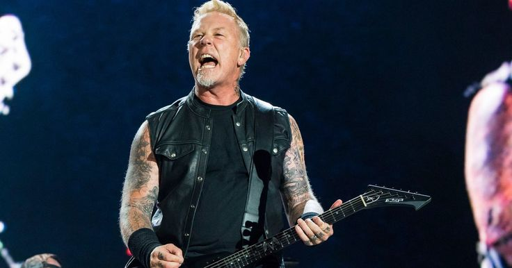 "Metallica's James Hetfield called Kendall and Kylie Jenner's controversial line of ""vintage"" band t-shirts ""disrespectful."""