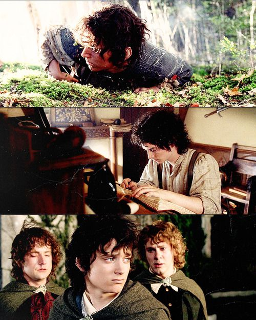 Frodo Frodo Frodo. This is why I love him. He just never stops trying. He held on to the bitterest end.