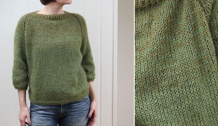 jeg vil strikke denne /wanna knit this