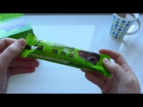 Arnold, Muscle Bar, Chocolate Brownie, 12 Bars - Iherb Unboxing Video - YouTube