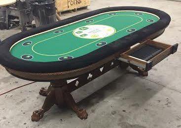 Custom Poker Table With John Deere Farming Theme | Texas Holdem Custom Poker  Tables | Pinterest | Custom Poker Tables, Poker Table And Poker