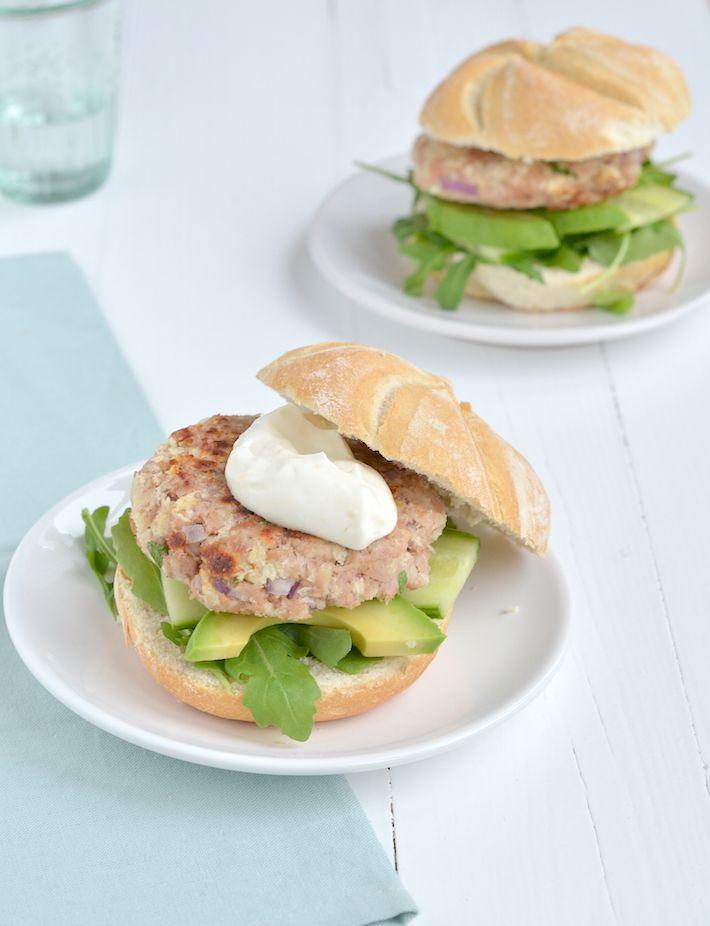 Tonijnburger (Uit Pauline's Keuken)