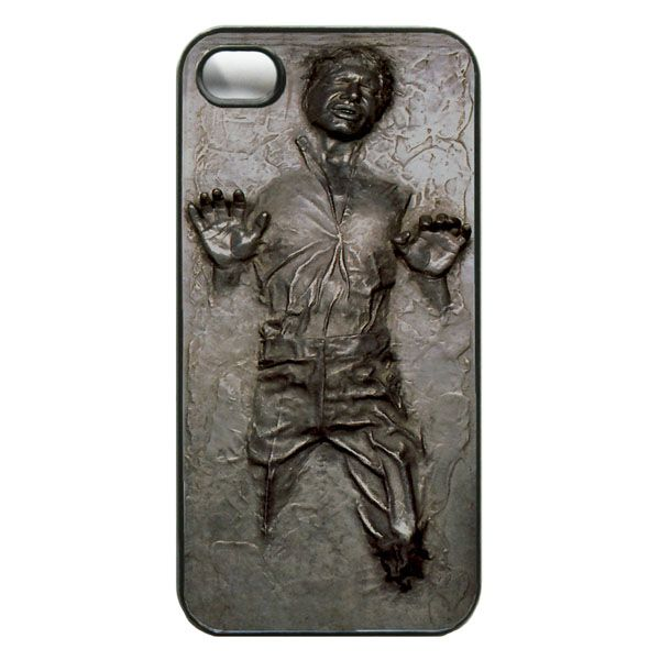 Star Wars Han Solo in Carbonite iPhone Case