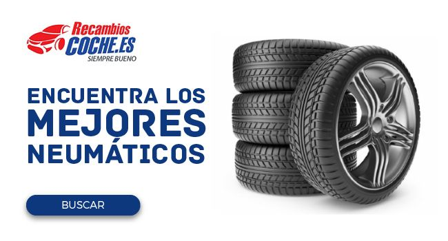 Encuentra los mejores neumáticos en Recambioscoche.es