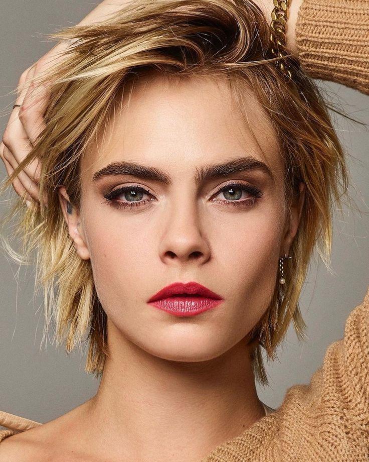 Cara Delevingne bekommt ihre Nahaufnahme in Dior Makeup Shoot