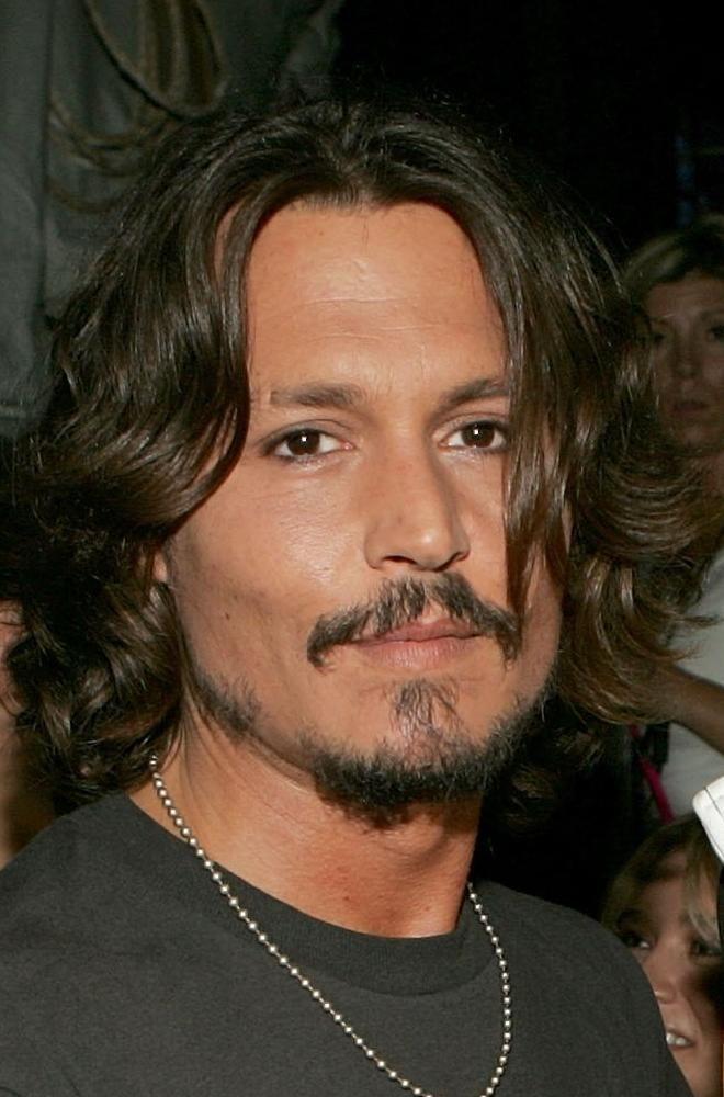 johnny depp long hair | Johnny with long hair♥♥♥ - Johnny Depp Photo (32467415) - Fanpop ...