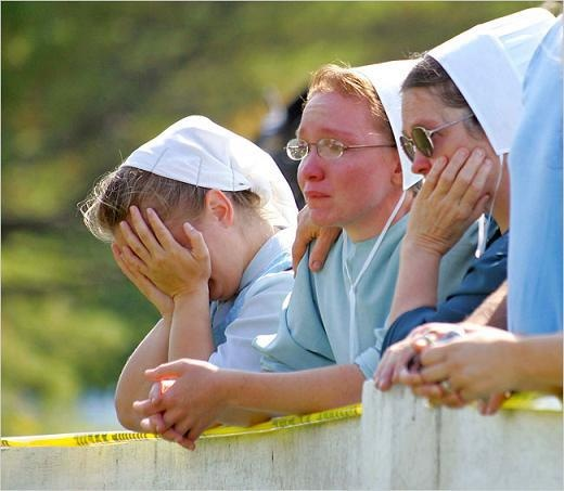 Amish school shooting.