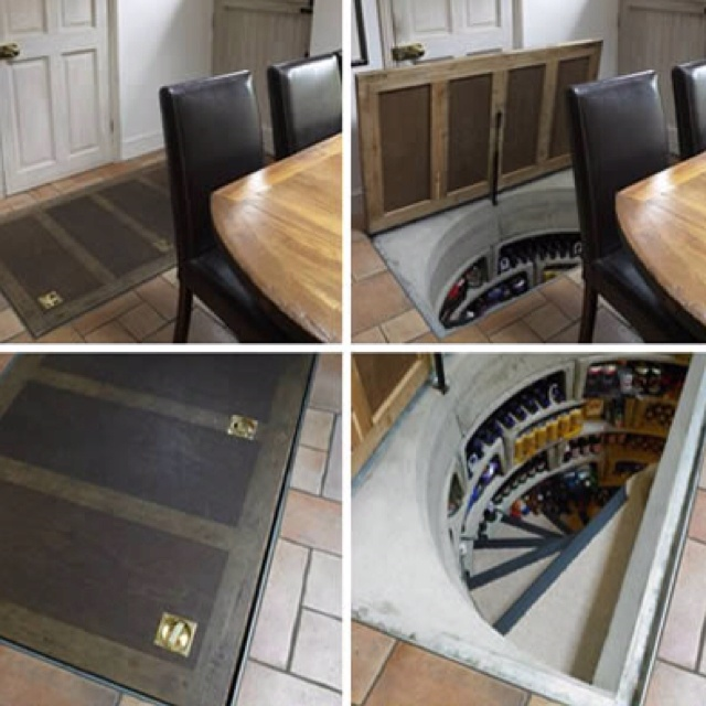 17 best images about secret passage on pinterest for Custom panic room
