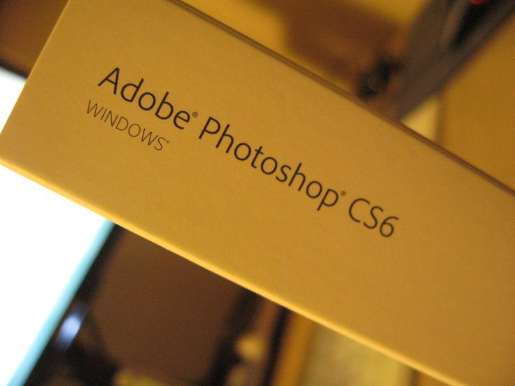 purchase a Adobe Photoshop CS6