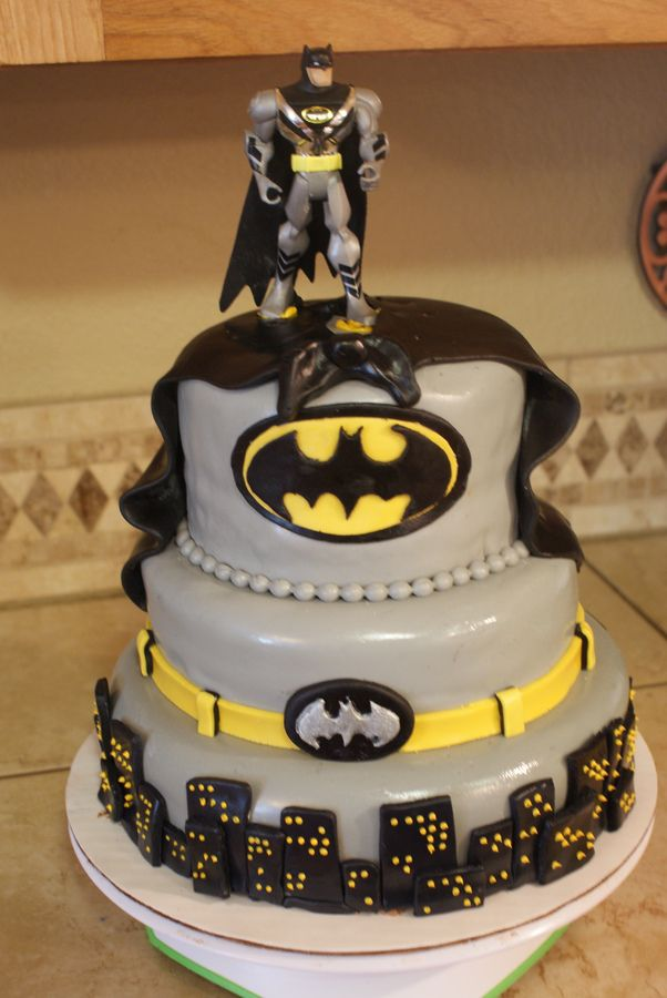 Catwoman Birthday Cake