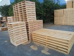 Pallets are made from many materials that are available in the market, but people still prefer to use #WoodenPallets as one can get cheap wooden pallets for sale in Brisbane.