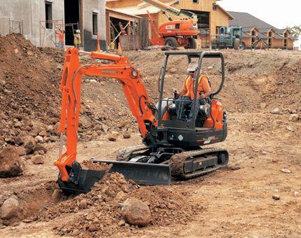 Kubota Tractor Corporation - Construction Equipment | KX Series | KX91-3S2 Compact Excavator
