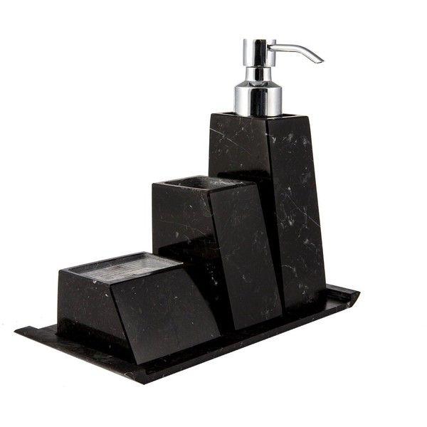 Best 25 black marble bathroom ideas on pinterest framed - Black marble bathroom accessories ...