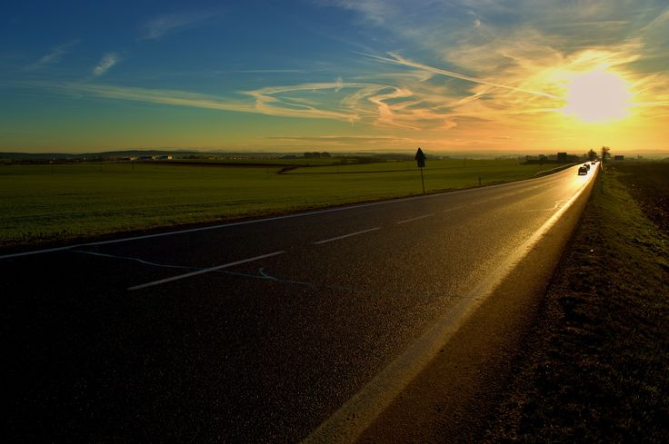 sunny roads by Hubert Müller on 500px