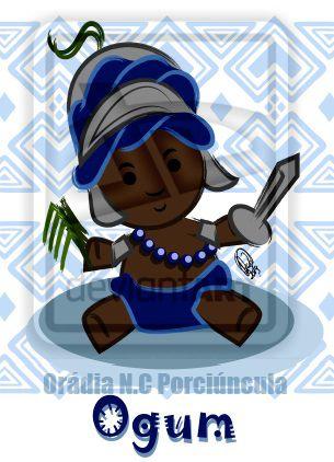 Ogum by Orádia N.C Porciúncula/ Licença Creative Commons 3.0 Atribuição - Uso Não-Comercial-Proibição de realização de Obras Derivadas CC BY-NC-ND