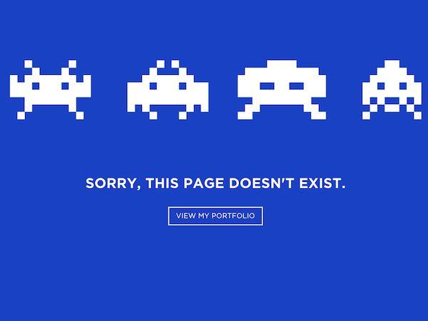 L'art méconnu de l'erreur 404