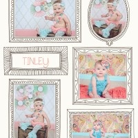 TINLEY {6 MONTHS OLD} | ST GOERGE, SOUTHERN UTAH BABY PHOTOGRAPHER