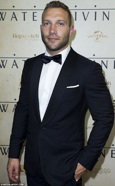 Jai Courtney at the world premiere of The Water Diviner in Sydney on December 2,2014