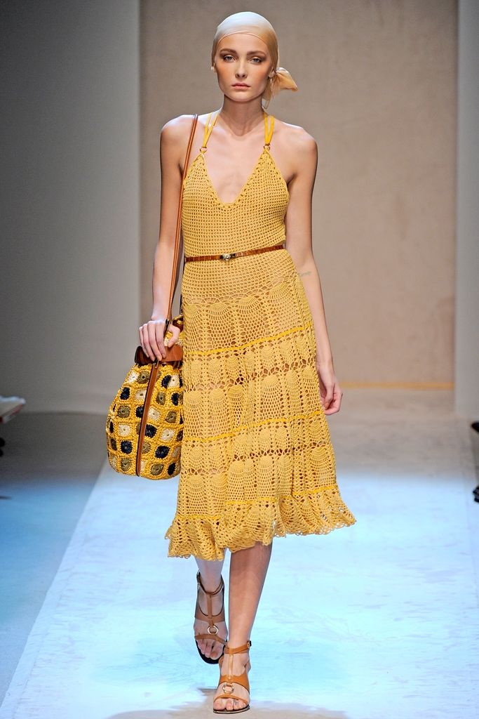 Cool Chic Style Fashion: Fashion Runway | Crochet dress, shoes, top and bags for Spring-Summer 2009