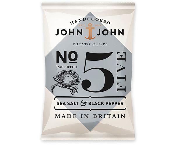 Packaging In Brief: John & John Crisps « BP Logo, Branding, Packaging & Opinion by Richard Baird