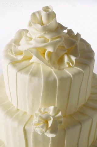 Elegant White Wedding Cake, Numer utworu: 42-27299878, Fotochannels